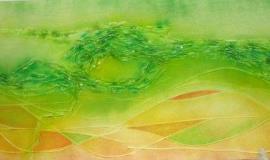 Náhľad - Zelený abstrakt