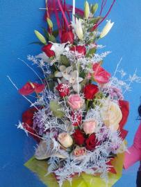 Náhľad - Jubilejná gratulačná kytica