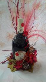 Náhľad - Ozdobené červené polosladke vino