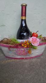 Náhľad - Fľaša červeného suchého vína