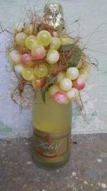 Náhľad - Fľaša šampanského Hubert so zeleným hroznom